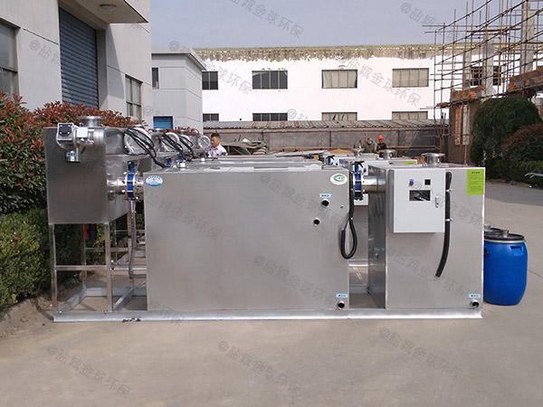 餐厅厨房地埋斜板气浮式自动隔油器施工方案
