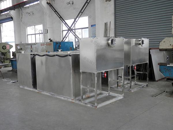 餐饮厨房水池2号电加热三级隔油器行业