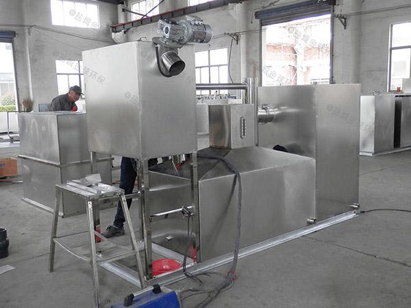 加油站密闭式不锈钢潲水油水分离器检验