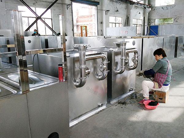 餐厅厨房地面压缩空气污水处理隔油设备生产商电话