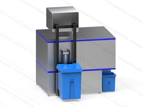 小型自动上料餐饮垃圾减量处理设备设计