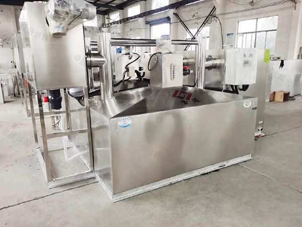 餐饮厨房水池2号隔悬浮物强排油水分离器施工方案