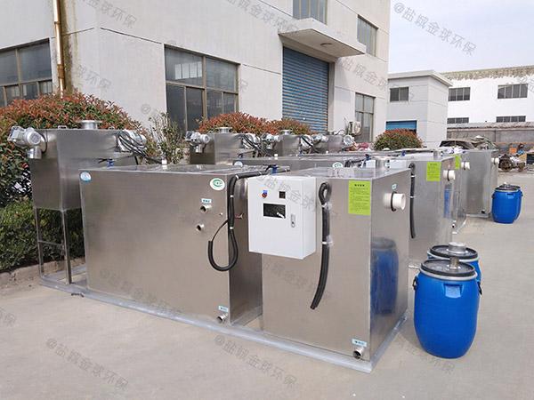 饭店排水沟2号无动力三格式隔油池技术要求