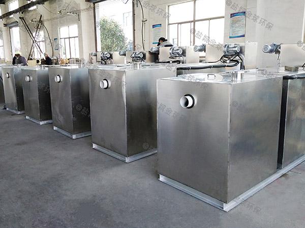 奶茶店2号隔悬浮物三仓式隔油池设计规范