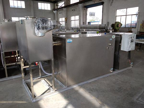 饭店厨房排水沟2号压缩空气三相油水分离设备设计要求