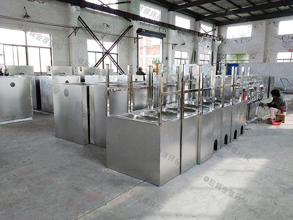 饭店厨房排水沟小型隔油污水处理隔油设备生产厂