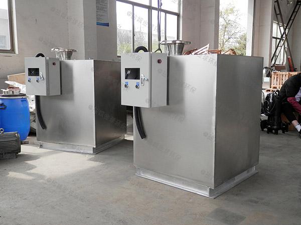 侧排式马桶餐饮污水排放提升设备的寿命