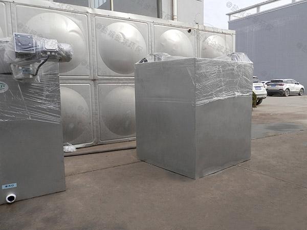 大型会馆地下室外置双泵污水提升器设备配件
