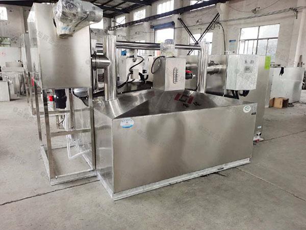 厨下型埋地智能化一体化隔油处理设备质量