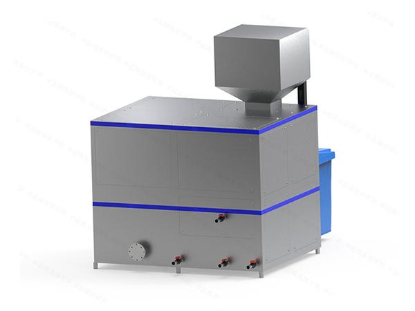 日处理10吨自动化餐厨垃圾处理设备一体机工艺说明