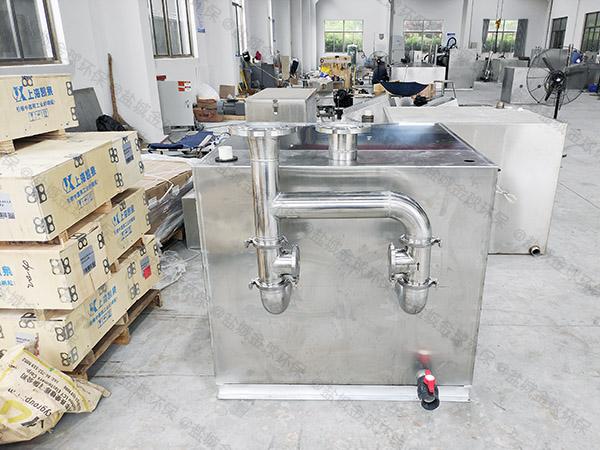 厨房自动污水提升设备安装说明