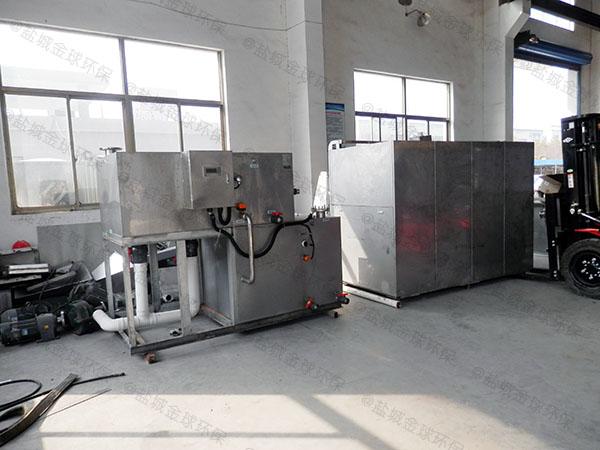 10吨机械式餐厨垃圾油水分离一体机联系方式