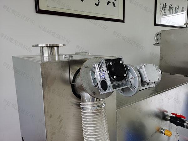 餐饮厨房水池大型无动力污水处理油水分离器设计方案