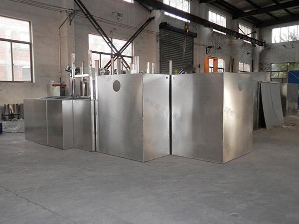 餐馆地埋隔油隔渣隔悬浮物三格式隔油池技术要求