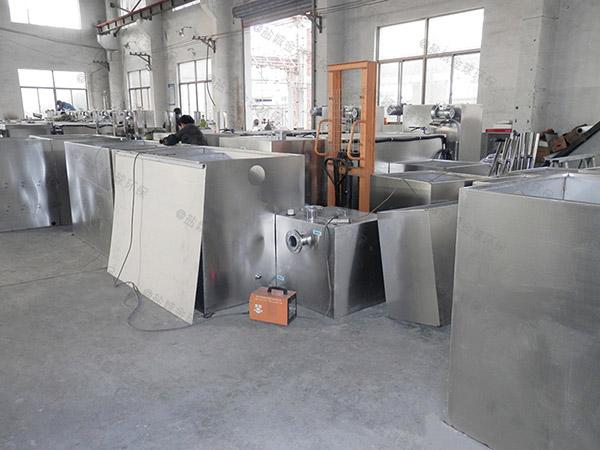 餐厅专用大型隔油隔渣隔悬浮物三相油水分离设备内部结构