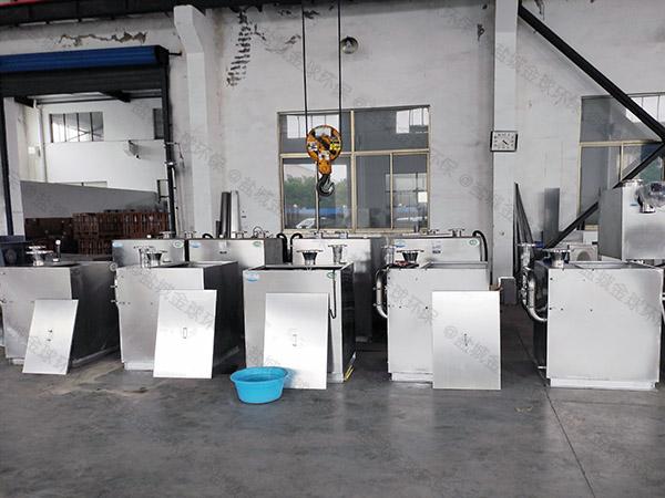 酒店一体化污水隔油提升器出水管尺寸