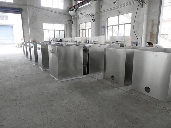 餐厅专用大型不锈钢提升隔油一体化设备施工方案