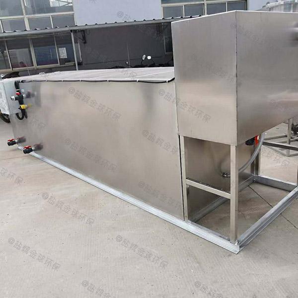 饭店排水沟地面压缩空气污水处理隔油设备施工工艺