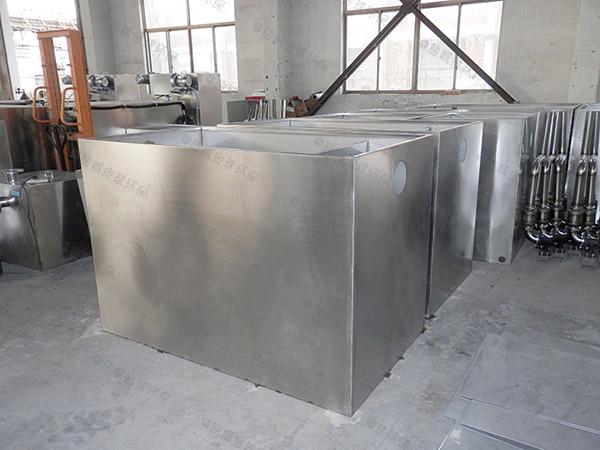 餐饮厨房水池地埋式无动力潲水油水分离器施工工艺