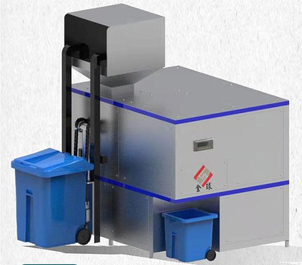 微型自动上料厨余垃圾处理机工艺流程