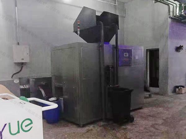 环保餐饮垃圾处理设备一体机品牌