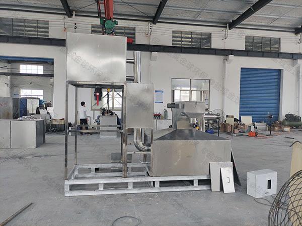 奶茶店密闭式斜板水与油分离设备生产厂