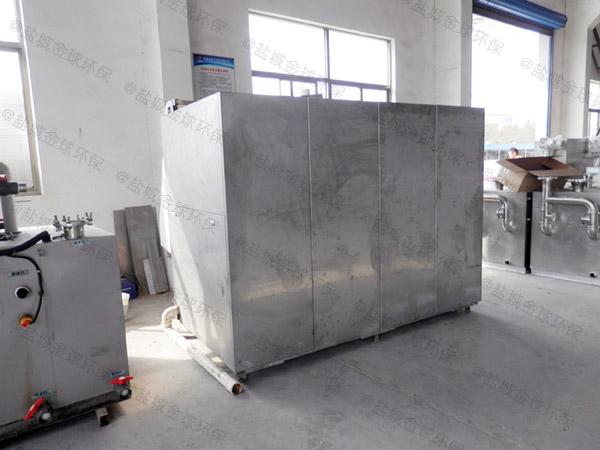 日处理10吨多功能餐饮垃圾减量设备工作原理
