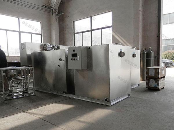 餐饮厨房小隔油隔渣隔悬浮物气浮油水分离器施工方案