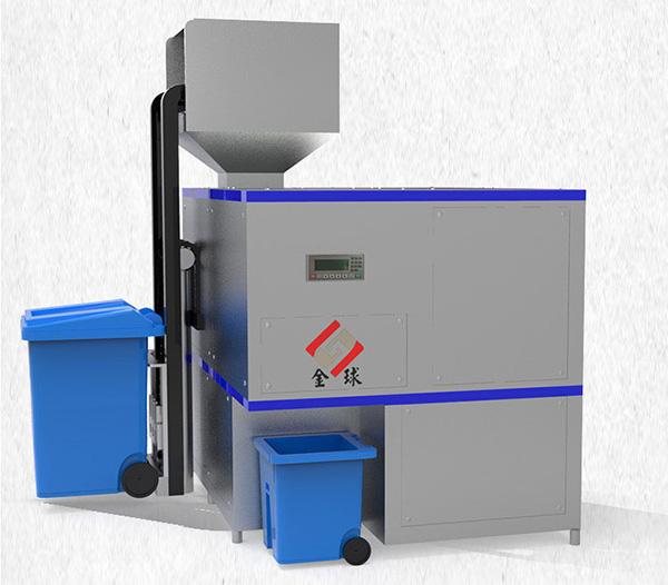 日处理10吨多功能餐饮垃圾脱水机使用方式