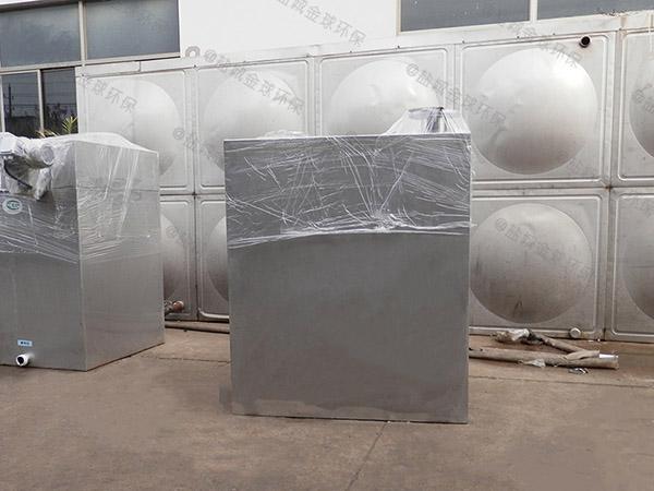 商场外置双泵污水提升器设备的安装方法