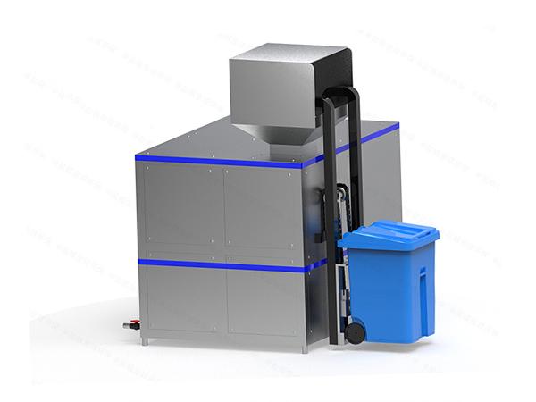 5吨自动上料厨余垃圾干湿分离设备技术规格书