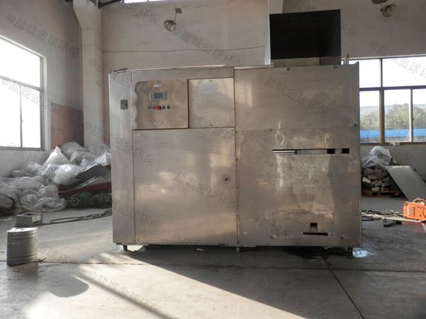 大型自动上料餐饮垃圾处理设备处理工艺