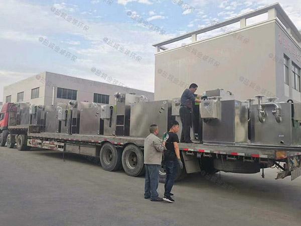 加油站大型隔悬浮物三仓式隔油池类型