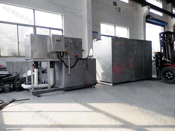 日处理10吨自动化餐厨垃圾处理设备处理流程