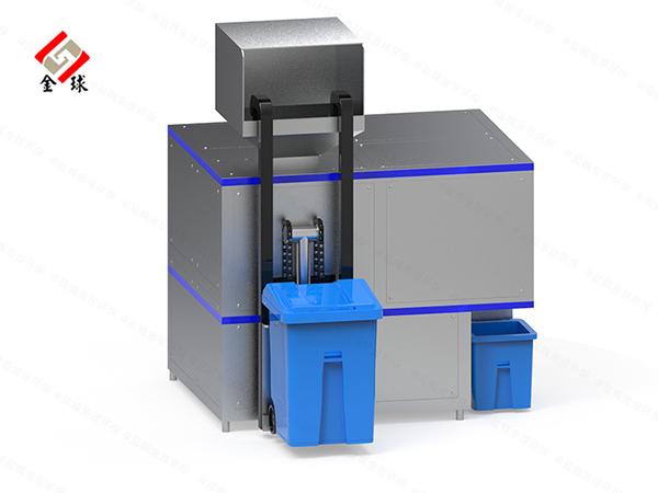 日处理10吨商业综合体厨房垃圾油水分离一体器价位