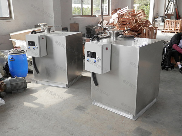 别墅地下室卫生间餐饮污水提升处理器的使用成本
