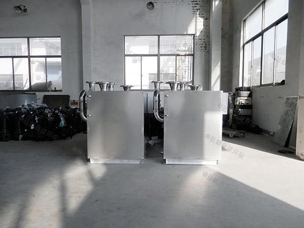 厨房自动化污水提升机需要通气