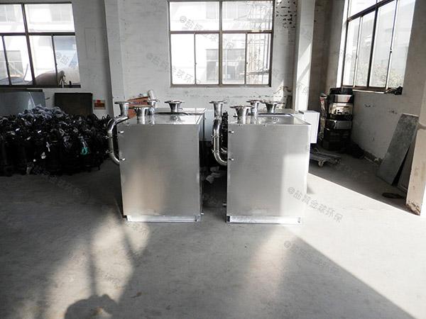 餐厨密闭式自动排渣污水排放提升设备验收清单