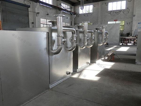 商场专用外置泵反冲洗型污水提升装置上排安装方法
