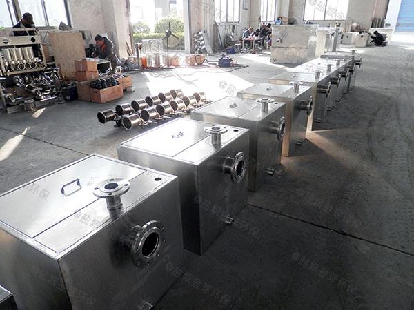 商品房地下室密闭式自动排渣污水提升处理器专用横排水