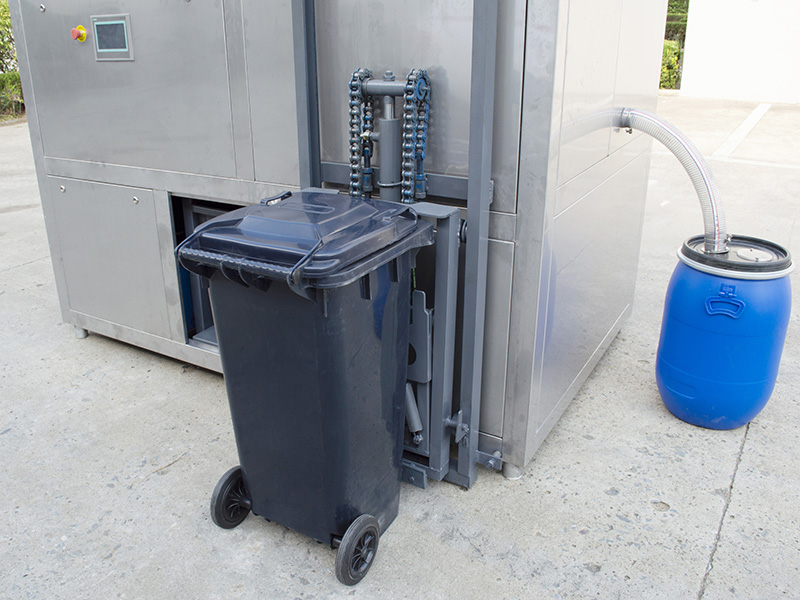 20吨商业城餐厨垃圾一体化处理机器方案