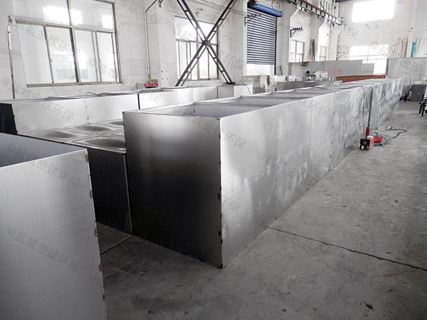 地埋式组合式食堂垃圾油水分离设备设计规范