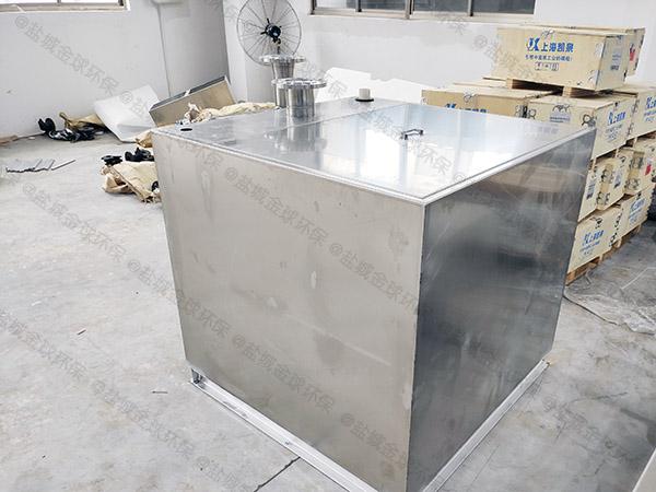 茶水间一体式污水提升器装置的安装方法