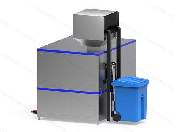 日处理5吨饭店餐饮垃圾脱水装置图片
