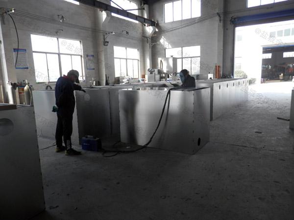 地下室全自动饭店垃圾油水分离处理设备规格型号及容量