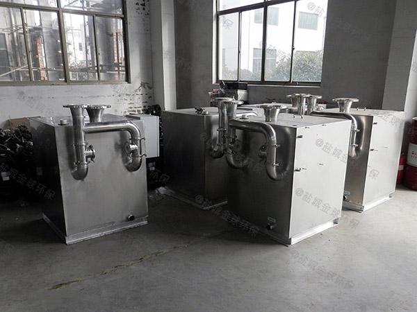 餐厨无异味污水提升处理器的安装方法