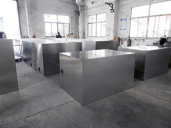 地下分体式餐饮油水分离规格